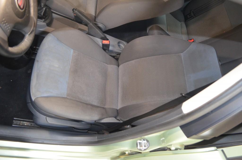 Химчистка сидения частично обработано