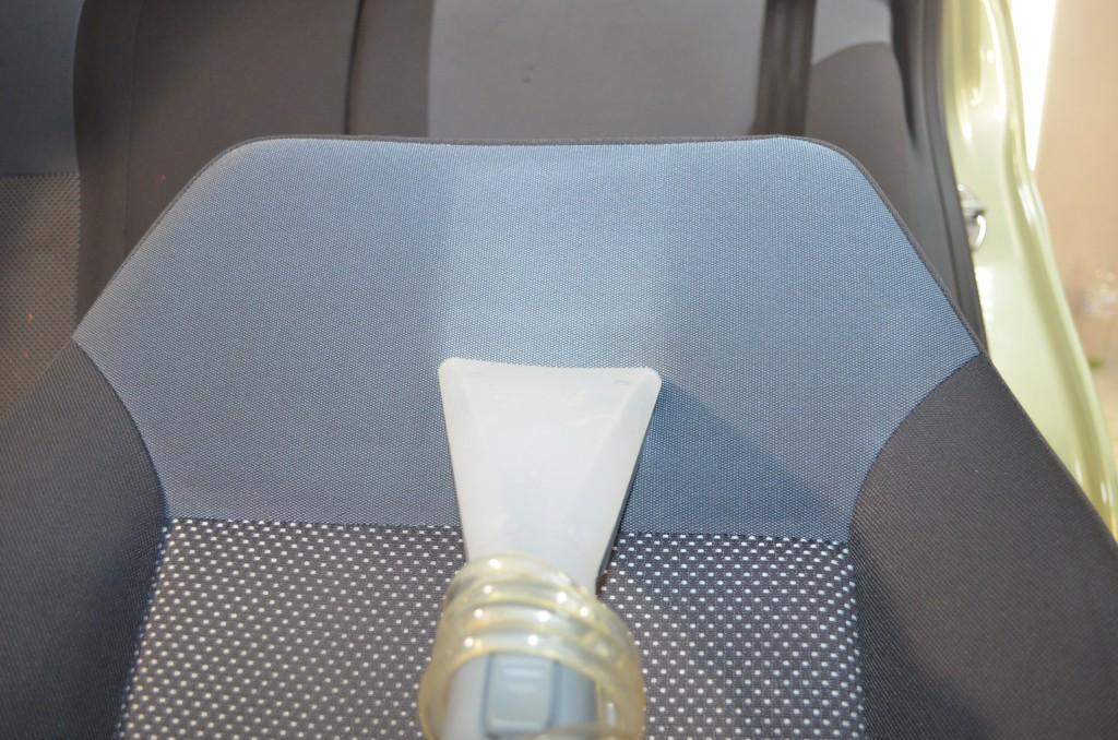 Химчистка сидения вытягивание влаги