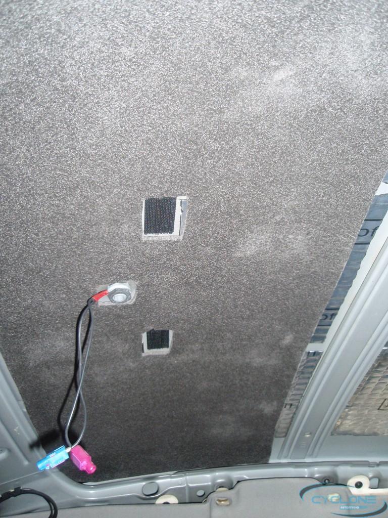 Audi A6 Шумоизоляция потолка