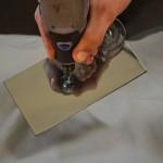 Ремонт лобового стекла (засверливание скола)