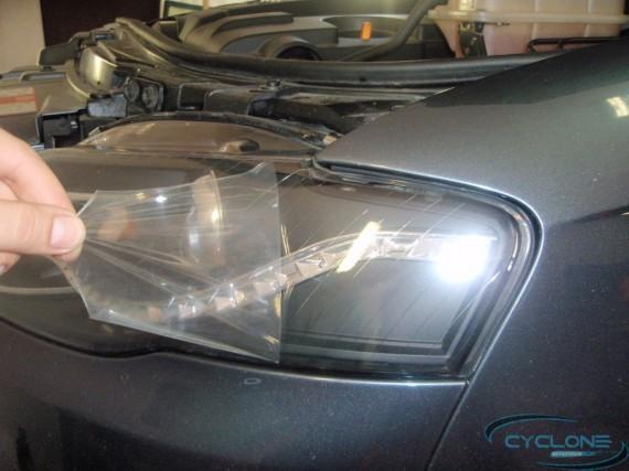 Audi A4 бронирование фар
